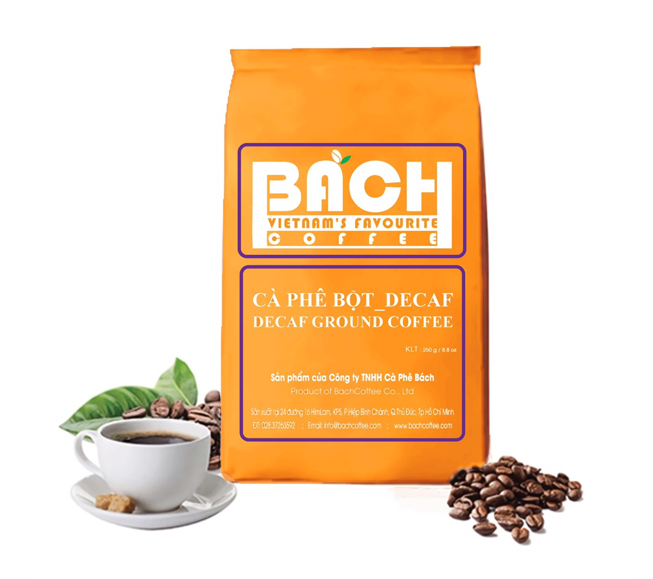 Espresso Ground Coffee Blend Decaffeinated Medium Roast
